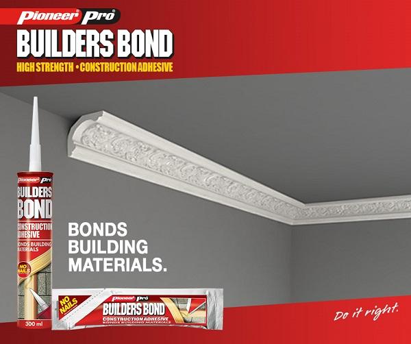 Pioneer Pro Builders Bond Tube and Sachet