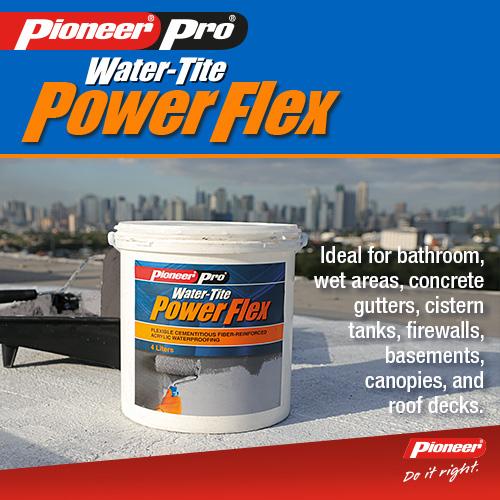 pioneer pro water tite power flex